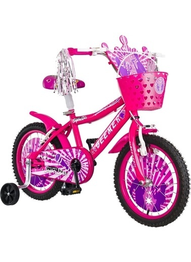 Rival Beemer 16 Jant Çocuk Bisikleti Zil Ayna Sepet Hediyeli Pembe